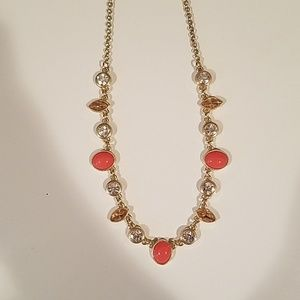Jewelry - Coral & Gold necklace